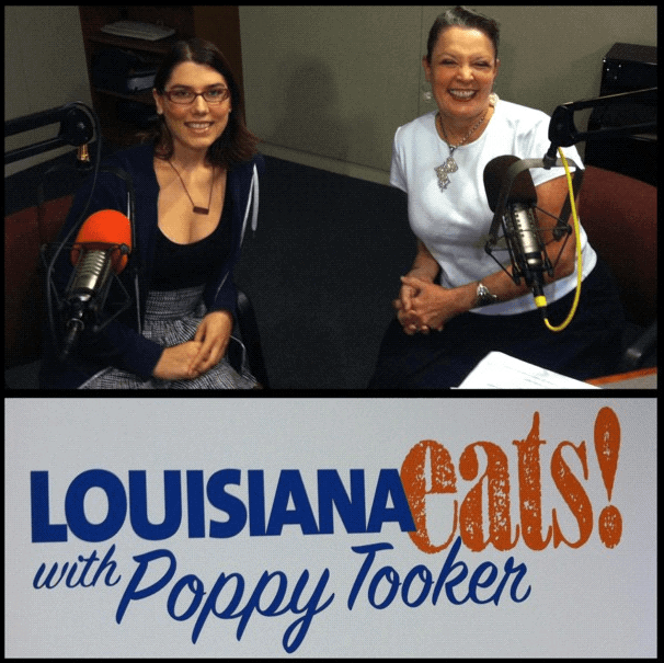First radio interview of the trip—New Orleans
