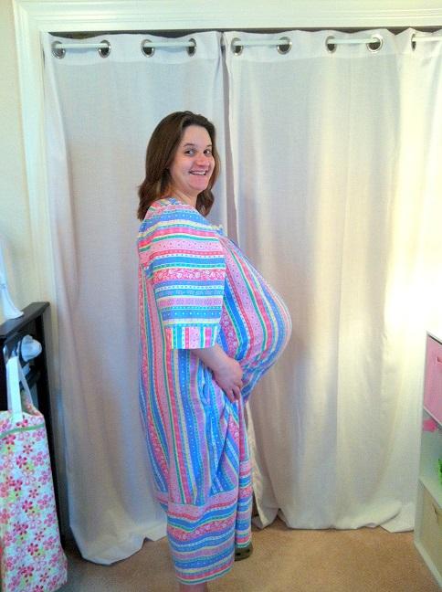 9 Months Pregnant 1