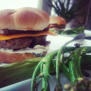 Field Roast Hand-Formed Burgers vegan cheese